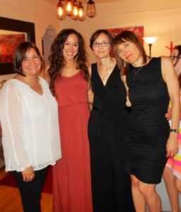 CTC's Executive Team (left to right): Monica Roldan, Megan Chinn, Silvia Dutchevici and Carolyn Jacoby.